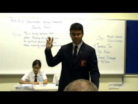 MIDC 2013 QF HCI v ACJC (State Funding for Political Parties)