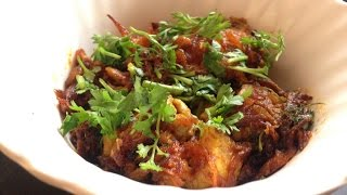 Bheja Fry -  Lamb Brain Recipe -Bheja Fry Recipe - Lamb Recipes @yummyindiankitchen.com