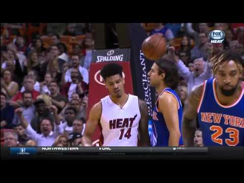 November 23, 2015 - FSS - Game 13 Miami Heat Vs New York Knicks - Win (09-04)(Heat Highlights)