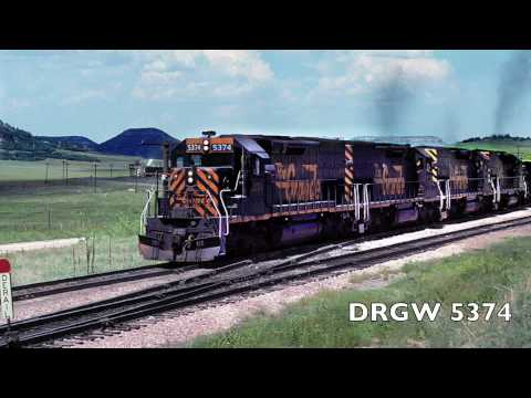 Heaven - DRGW sd40T-2 tribute