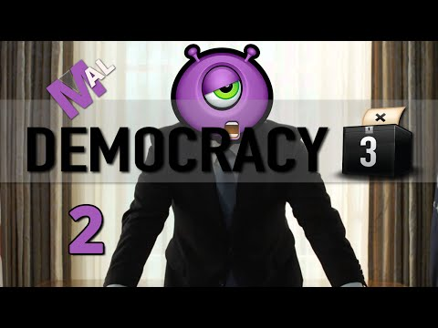 Democracy 3 Let's Play - Part 2 - United States With Mal!