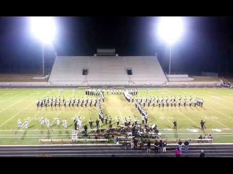 2013 Houston County High School Marching Band - Black and Silver Brigade - Band Night