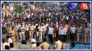 Shatak AajTak   Protests Spread Across Maharashtra After Bhima-Koregaon Caste Violence