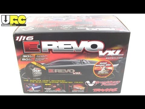 Traxxas Mini E-REVO VXL brushless RTR unboxing