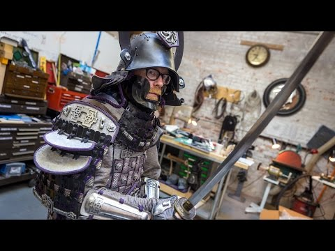 Adam Savage's Samurai Armor Costume!