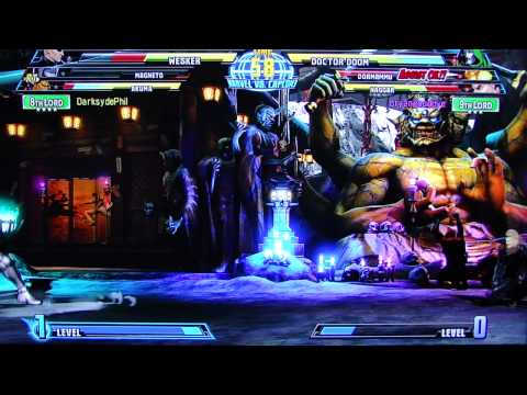 MvC3 Horrendous Lag Online Casuals pt15