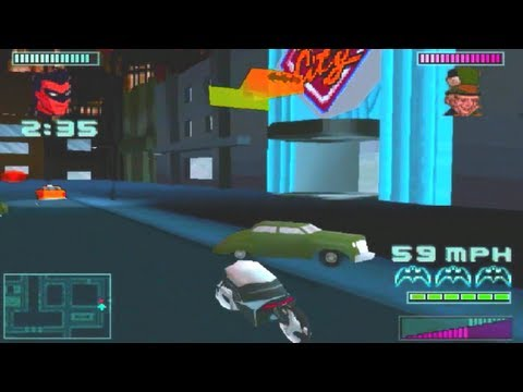 Awful Playstation Games: Batman: Gotham City Racer Review
