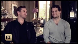 Henry Cavill & Armie Hammer Funny Moments 2015 part 2