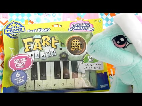Fart Piano Toy Prankstar - Minty Plays Songs on the Fart Piano