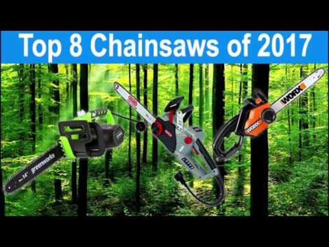 Best Electric Chainsaws 2017