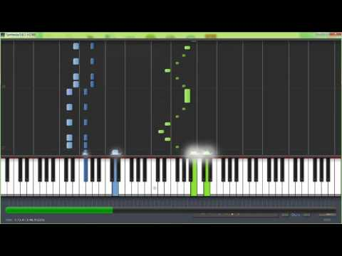 Zelda Twilight Princess Music Hyrule Field Piano Tutorial
