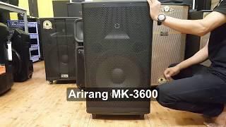 So Sánh 2 Dòng Loa Kéo Đang Hot - Loa Arirang MK-3600 Và Loa Best 6800