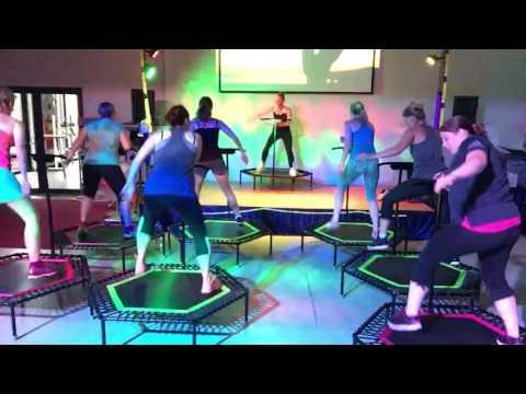 """Gateway Love"" by ZWEI in Jumping Fitness class"
