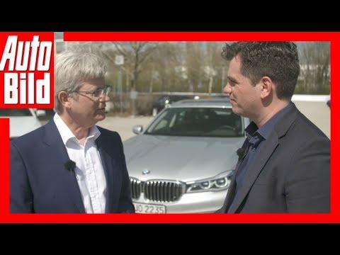 BMW autonomes Fahren (2018) Elmar Frickestein im Interview