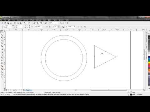 3 Menit Membuat Kreasi Logo WMP (Corel Draw X4)