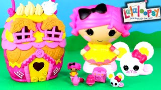 Lalaloopsy Tinies Crumb's House Playset Unboxing and Toy Review
