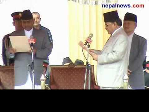 PM Dahal sworn in, assumes office
