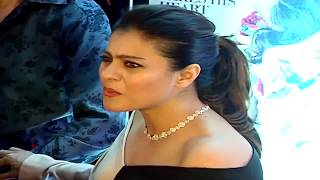 Kajol's Oops Moment at the Filmfare Glamour and Style Awards 2016