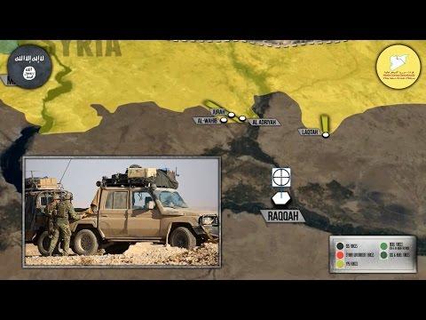 7 ноября 2016. Военная обстановка в Сирии. Начало наступления на Ракку.