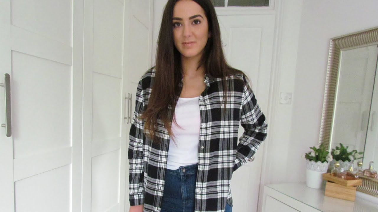 Plaid And Mom Jeans: OOTD S01E6/8 - YouTube - photo#28