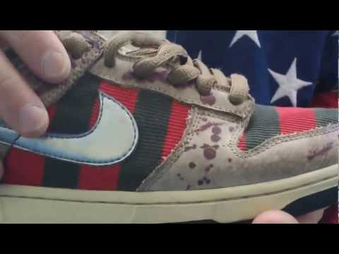 Nike SB unreleased Freddy Krueger SB legit check/review @Intl_snkr_exch