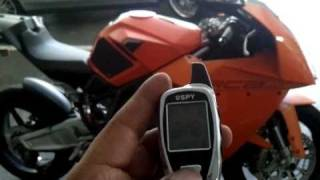 Jan 2011 - SPY 5000M 2-Way Motorcycle Alarm (Msg me for help.. I answer all questions)