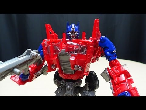 Age of Extinction Voyager EVASION MODE OPTIMUS PRIME: EmGo's Transformers Reviews N' Stuff