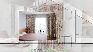 Rèm cửa 2 lớp đẹp giá rẻ của Mihn Home