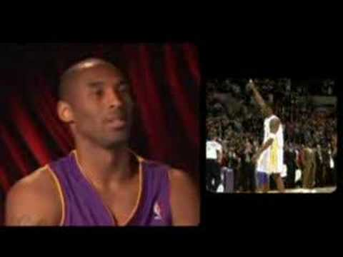Kobe interview 81 Magic Johnson Michael Jordan champions Video