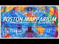 Boston Mapparium: A stunning stained glass globe you can yodel in.