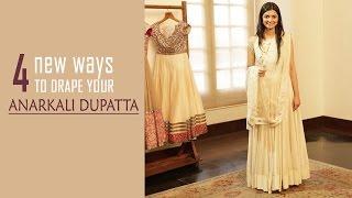 4 New Ways To Drape Your Anarkali Dupatta