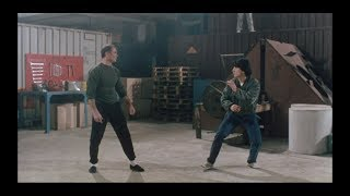 "Jackie Chan's ""Protector, The (威龍猛探)""–Warehouse fight scene, the Film Whisperer HIGH DEF remaster."