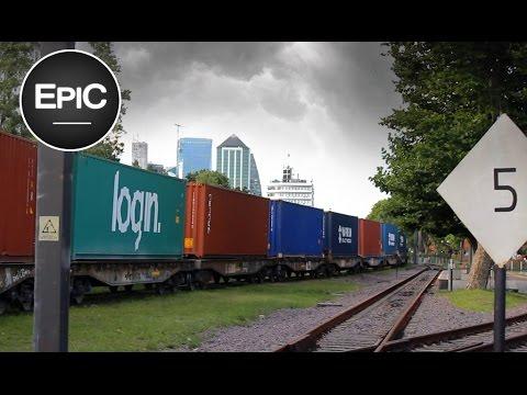 Trenes de Carga en Buenos Aires / Freight Train on Buenos Aires - Argentina (HD)