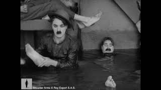 Charlie Chaplin wakes up in flooded trench - Shoulder Arms