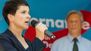 FRAUKE PETRY in Hannover AfD Kundgebung 10.09.2016 Alternative Deutschland Demo
