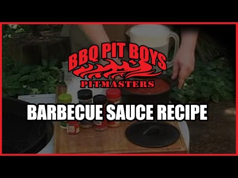 BBQ Pit Boys Homemade Barbecue Sauce Recipe