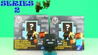 Minecraft Series 2 Minifigure Blind Boxes Toy Review & Unboxing, Mattel