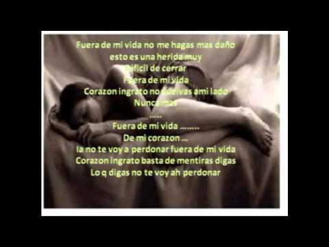 Jennifer Pe A Fuera De Mi Vida Lyrics