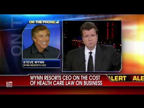 Steve Wynn Reams Obama  'Frightened To Death' For Future Of U.S. Business