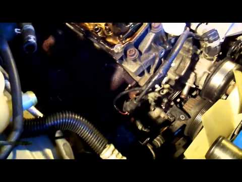FORD Explorer timing chain project 11-10-2012