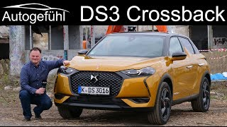 all-new DS3 Crossback FULL REVIEW Performance Line - Autogefühl