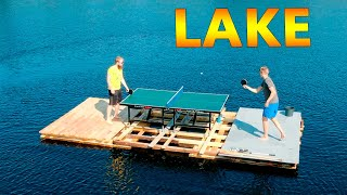 Ping Pong In the Middle of a Lake