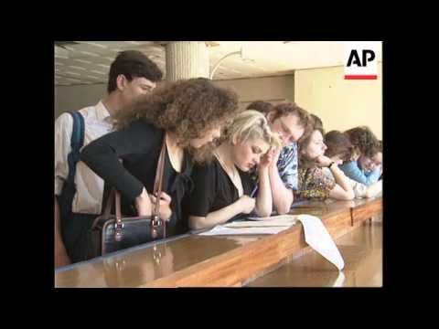 RUSSIA: MOSCOW: YOUTH EMPLOYMENT