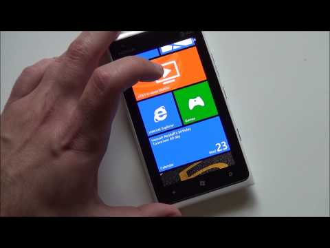 Windows Phone 7.8 on the AT&T Nokia Lumia 900 (Official)