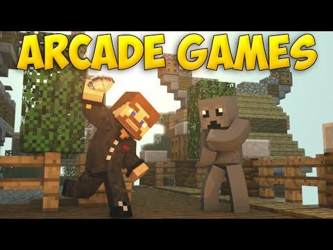 СУПЕР НОВЫЕ МИНИ ИГРЫ - Minecraft Arcade Games