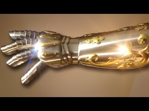 How to Make a Gauntlet Version 2 Armor Tutorial
