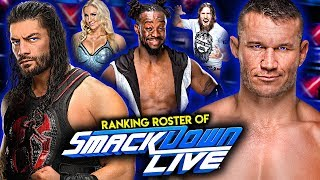 The Entire WWE SmackDown Live Roster Of 2019 Ranked From From WORST To BEST!