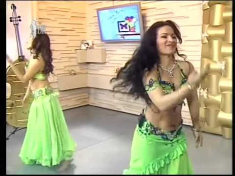 Mashallah Duet Amina Garayeva feat  Sofico Shonia bollywood bellywood dance Perform TV TDK 2012