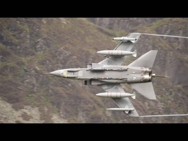 Mach Loop - Tornado GR4 and USAF F15E low flying