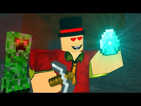 Roblox meets Minecraft ! - Craftronix Animation